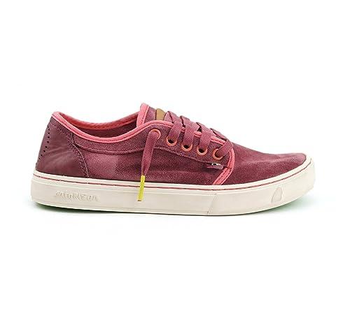 Satorisan - Zapatillas de Piel para Hombre Rojo Sandal Wood, Color Rojo, Talla 41: Amazon.es: Zapatos y complementos