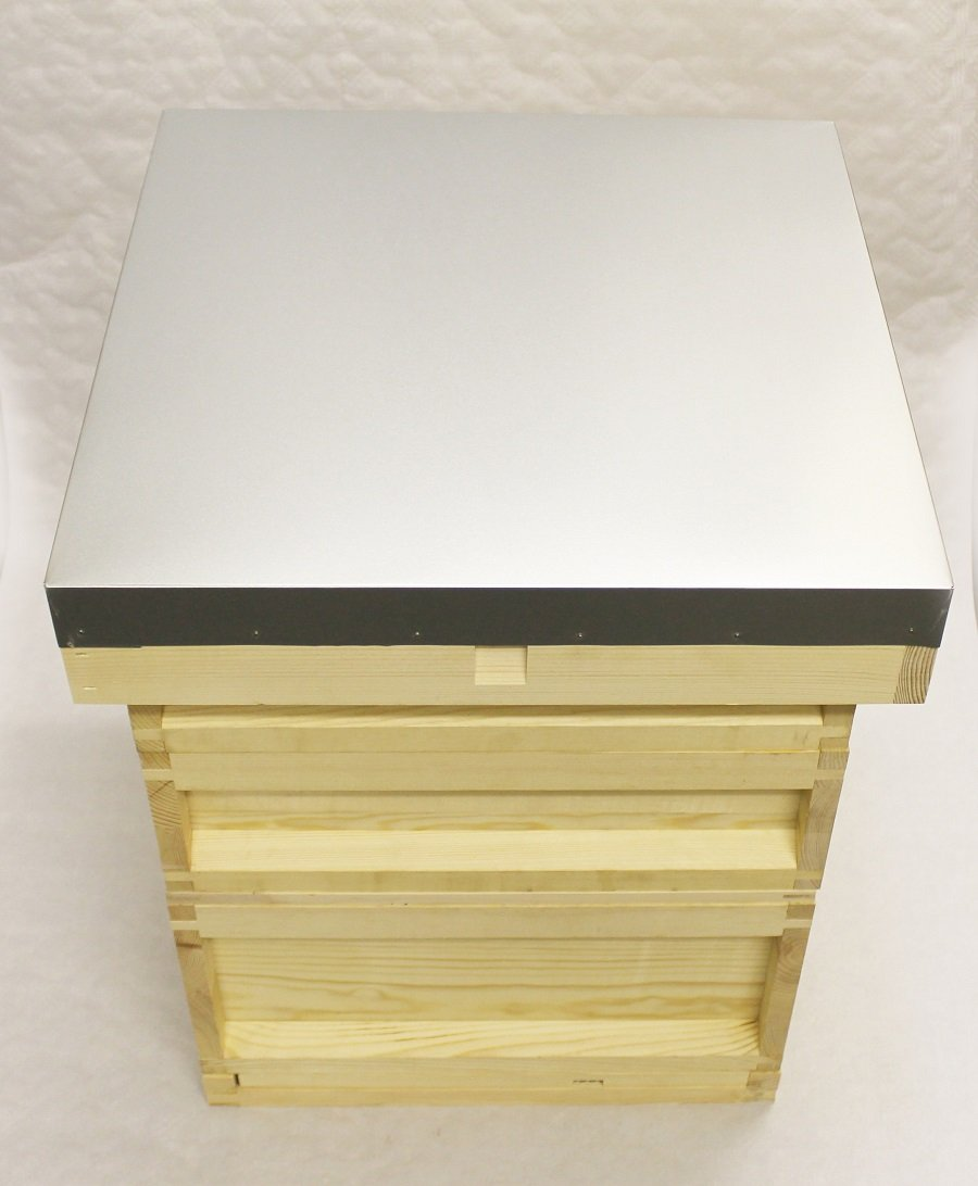 Easipet National Bee Hive in Pine with 2 Super 1 Brood by (21436)