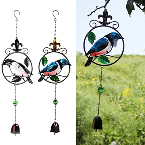 nuiOOui131-Exquisito Perchero para pájaros de imitación ...