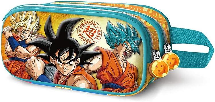 Karactermania Dragon Ball Saiyan 3D - Estuche, Multicolor, 22.5 cm: Amazon.es: Equipaje