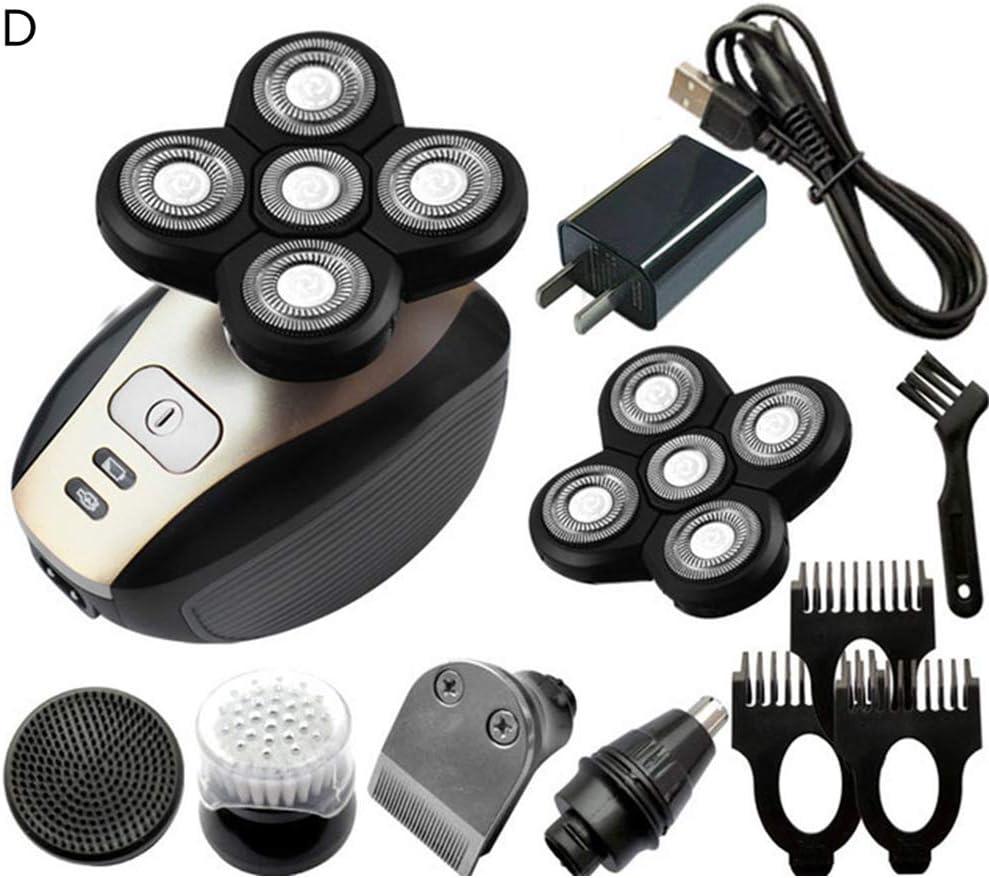 5 in1 Multifunción 4D Electric Shaver Men, Trimmer de barba ...