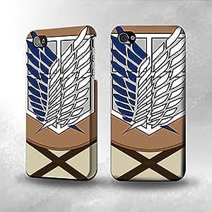Attack On Titan Fashion Comstom Plastic case cover For Samsung Galaxy Note 3 Cover
