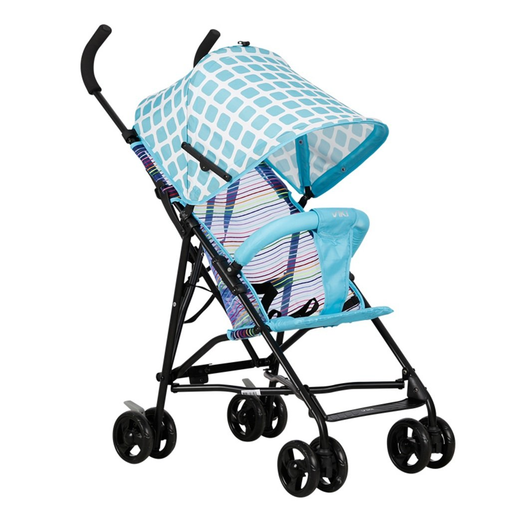 HAIZHEN マウンテンバイク ベビーカート軽量折りたたみ可能な通気性のあるネット夏の日よけの日よけの赤ちゃんキャリッジ41 * 59 * 92cm 新生児 B07DLCCQ9M 1 1