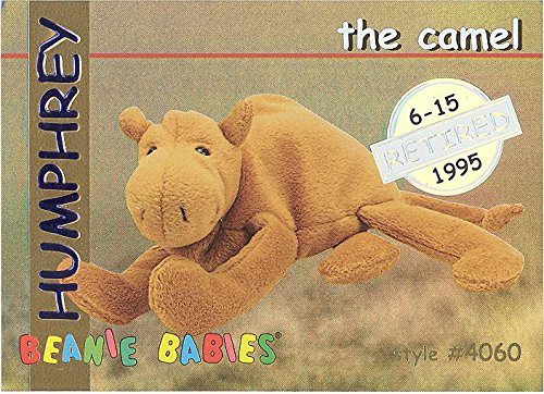 BBOC Cards TY Beanie Babies Series 1 Retired (Silver) - Humphrey The Camel