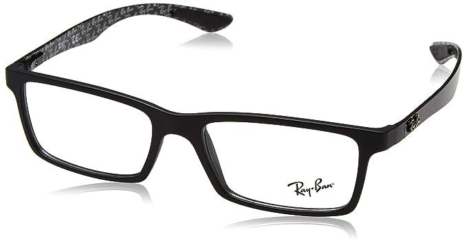 14fe99ff8c Ray-Ban 0RX 8901 5263 53 Monturas de gafas, Demi Gloss Black, Hombre:  Amazon.es: Ropa y accesorios