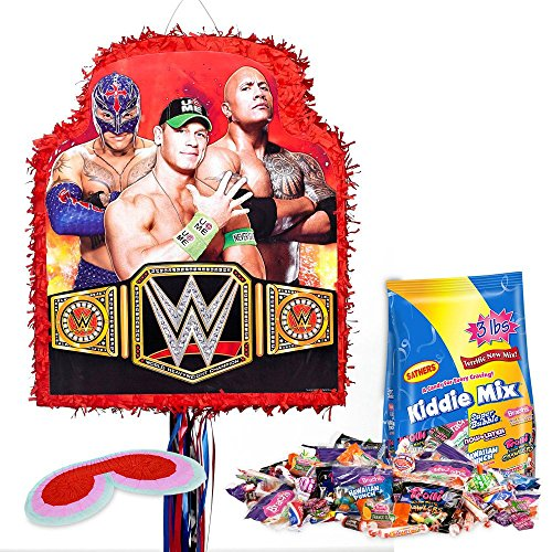 Costume SuperCenter WWE Pinata Kit - Party Supplies by Costume SuperCenter