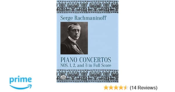 2 and 3 in Full Score 1 Piano Concertos Nos