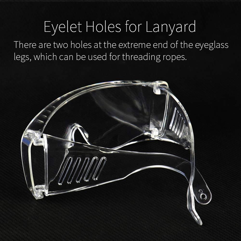 ypypiaol Transparente Anti Gota Anti Niebla Gafas De Seguridad Protector De Ojos Protector 1#