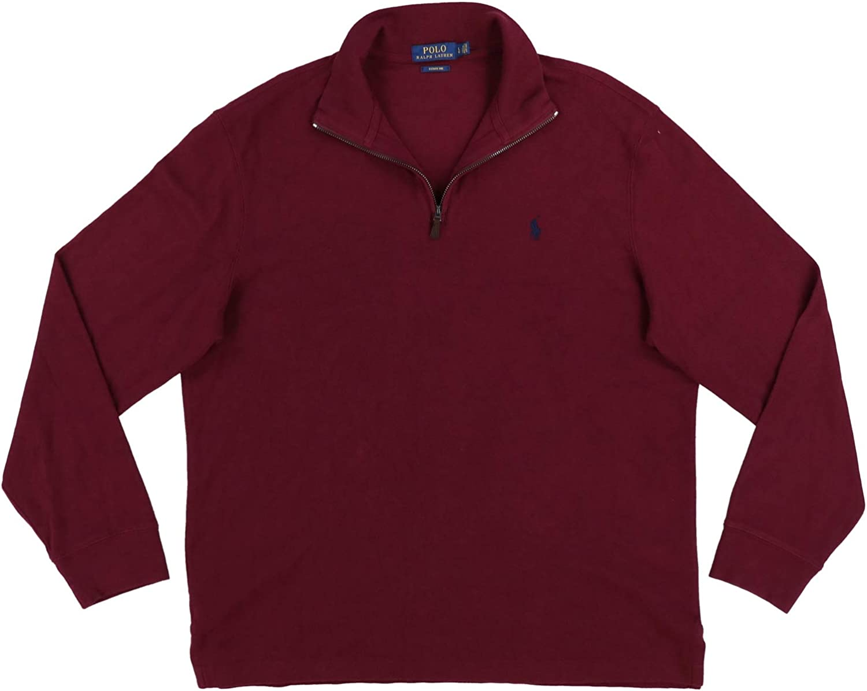 Max 85% OFF Polo Nashville-Davidson Mall Ralph Lauren Mens Big Tall 1 Pullover Zip Estate Cotton 4
