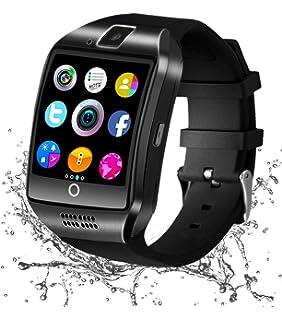 Reloj Inteligente Android, Smartwatch con Pulsómetro Reloj ...