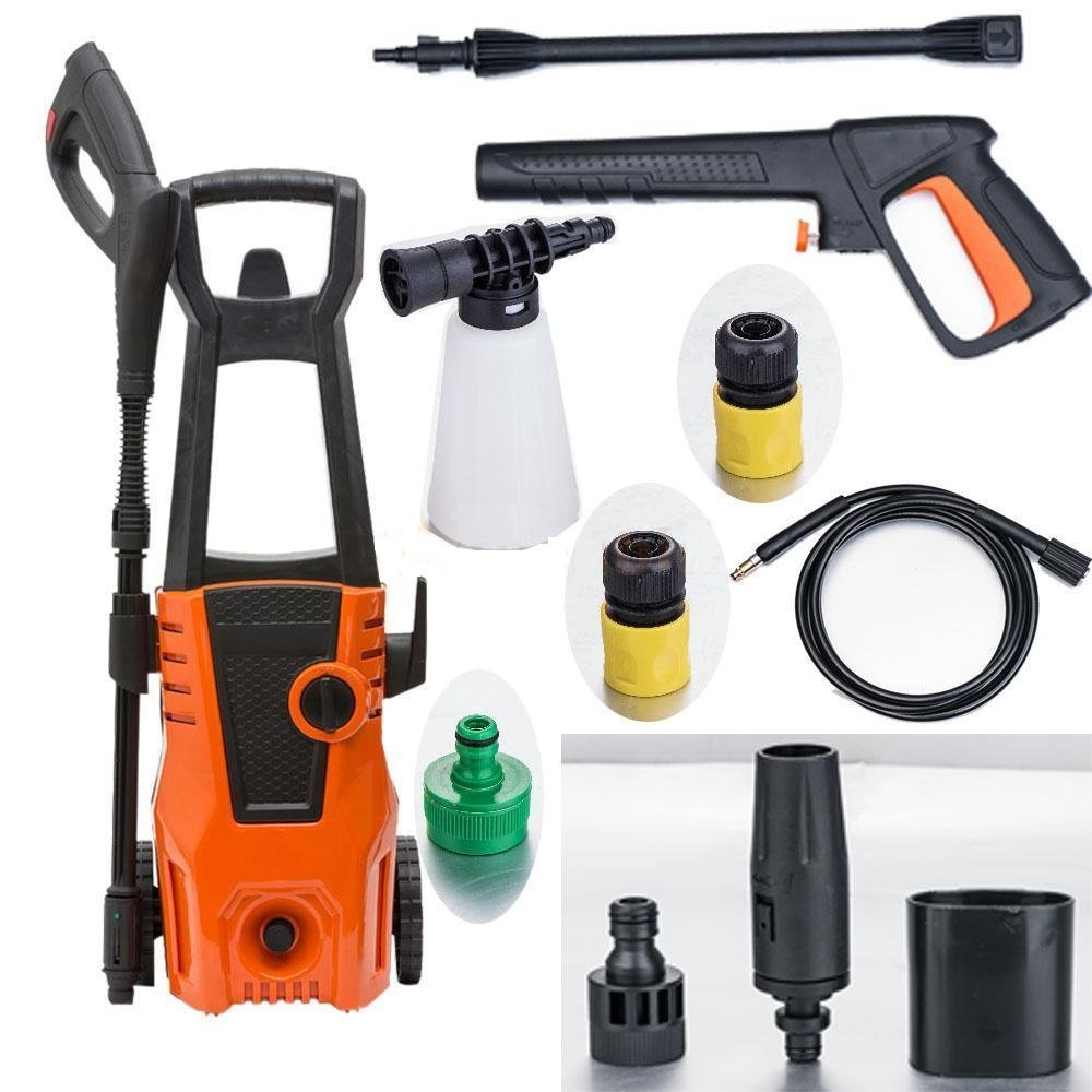 1400PSI Electric High Pressure Washer 1400W/1.9ph 1.6GPM Sprayer Cleaner Machine