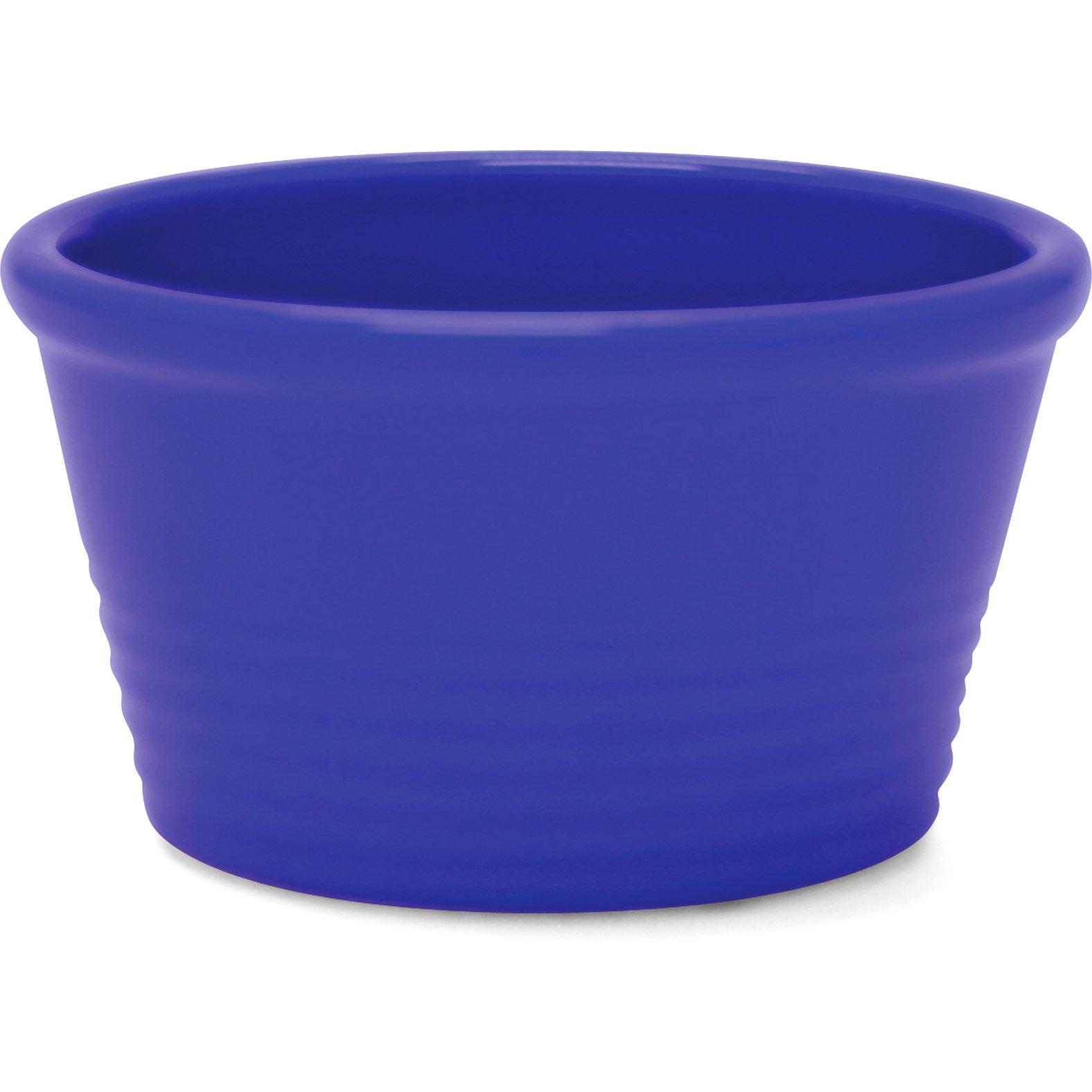 Chantal Indigo Blue Ceramic Stackable Ramekin, Set of 4