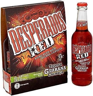 Desperados Red Tequila Guarana Cachaca Beer 24 X 330ml Bottles Amazon Co Uk Grocery