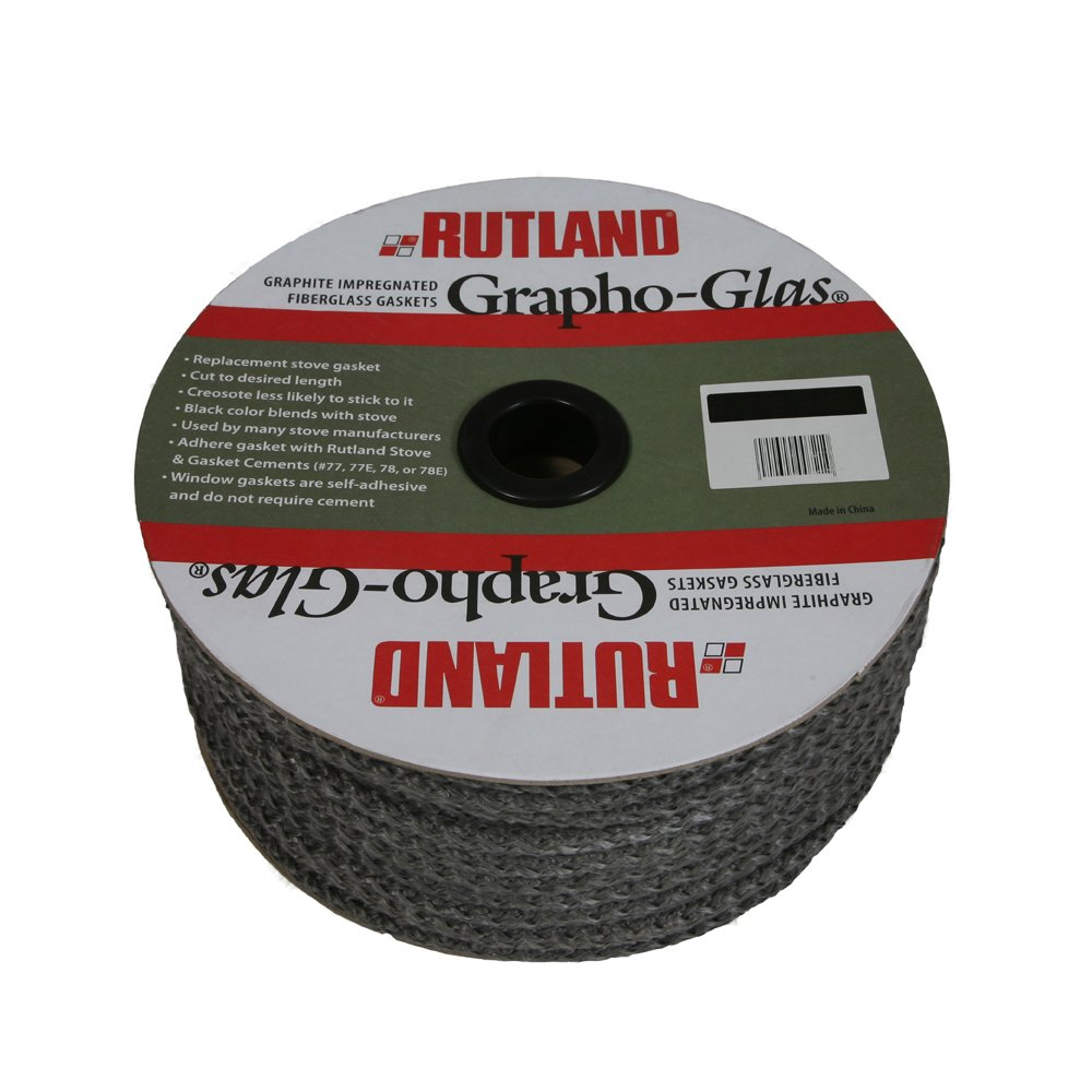 Rutland Products Grapho-Glas Gasket Spool-Rope-65, 65' x 5/8'' by Rutland Products