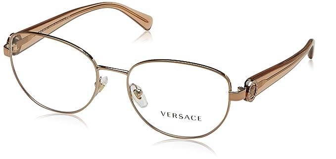 4d32dbbc39 Amazon.com: Versace Women's VE1246B Eyeglasses 52mm: Clothing