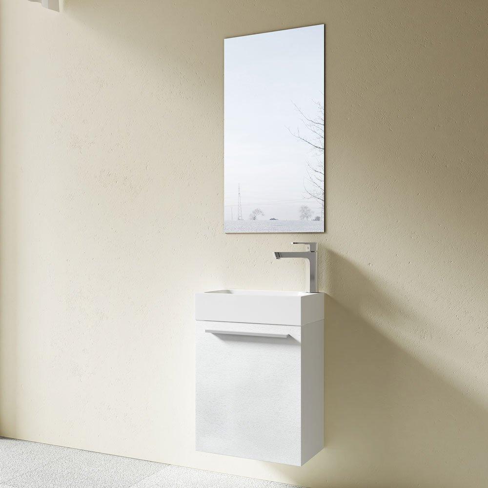 Meuble de salle de bains petite vasque avec meuble sous vasque et ...