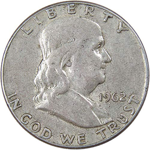 1962 Franklin Silver Half Dollar VF-Very Fine
