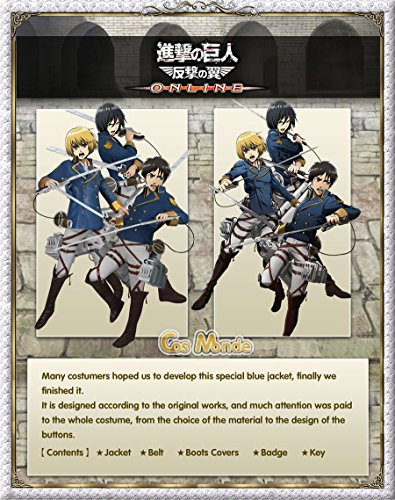 with Attack On Titan Costumes design
