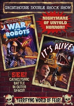 Amazon com: Grindhouse Double Shock Show (Wars of the Robots