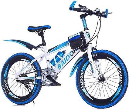 MYMGG Bicicleta Infantil para niños y niñas a Partir de 8 años Bici de montaña 20,22 Pulgadas con Frenos Mountainbike: Amazon.es: Deportes y aire libre