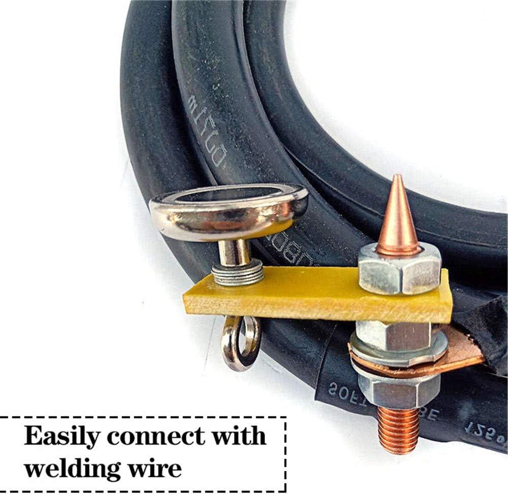 Conector A Tierra con Magn/ético para Reparaci/ón Car Dent Auto Bodywork Spotter Piezas Accesorios