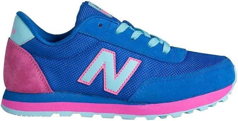 New Balance KL501OBY - Zapatillas Deportivas para niña, Color Azul/Rosa/Blanco, Talla 32: Amazon.es: Zapatos y complementos