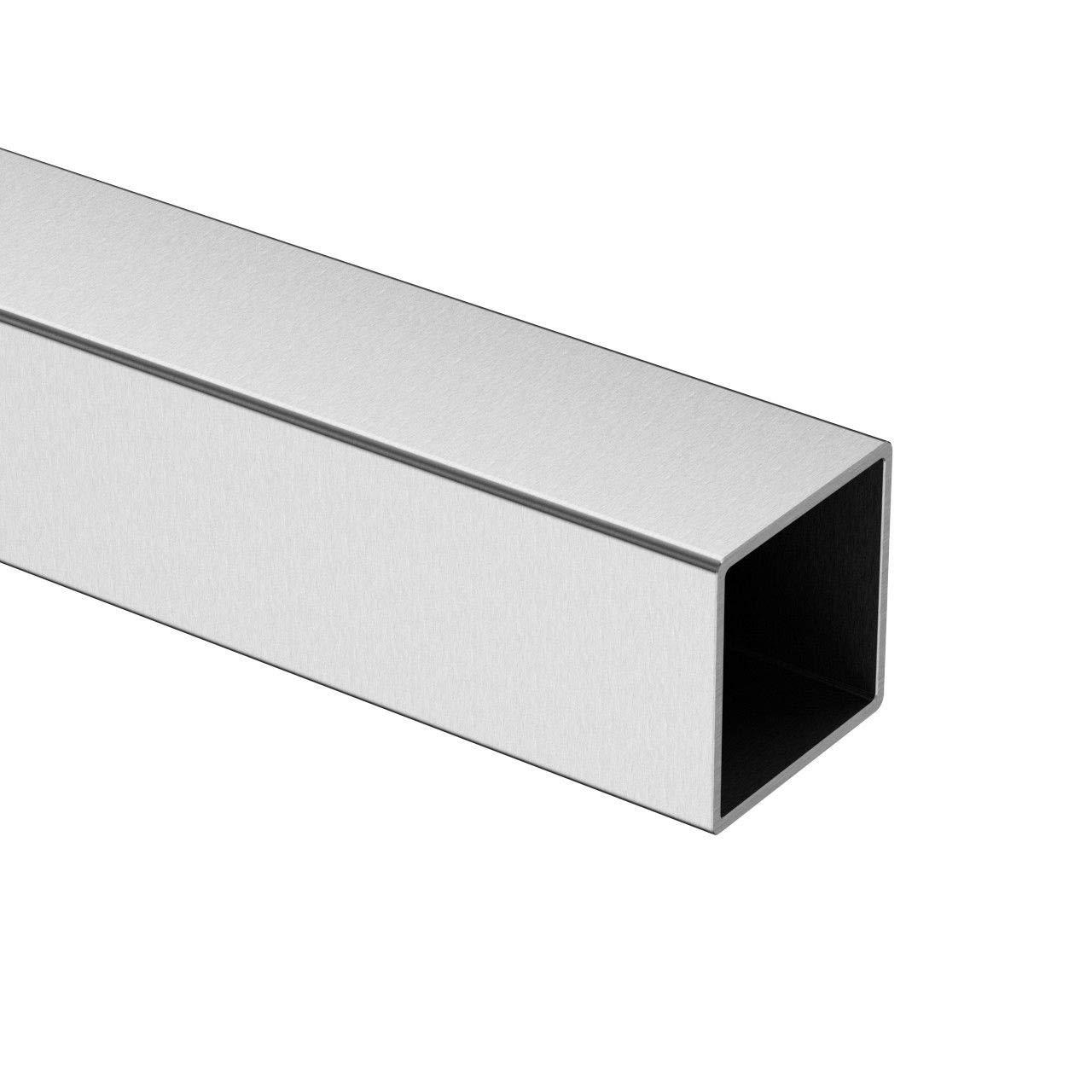 40x40x2 geschliffen Rohr K320 Gel/änderrohr Ror 100-150-200cm Edelstahl Gel/änder Rundrohr Edelstahlrohr /Ø42,4 x 2mm// 12,0 x 1mm /Ø42,4 x 2 mm, 300cm