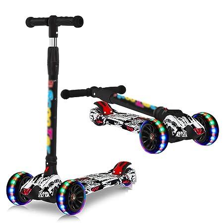 YKKHHCD Scooter para Niños Bicicleta Ajustable para Bebés ...