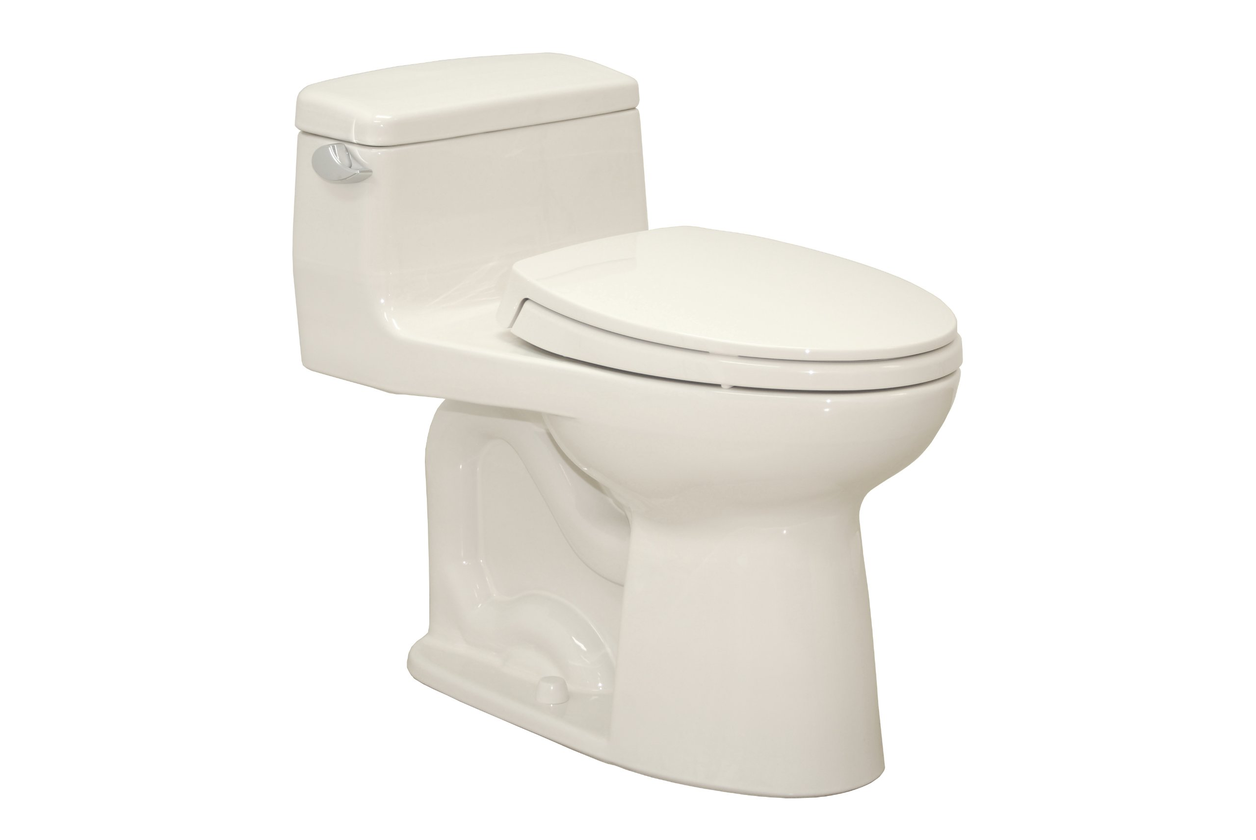 TOTO MS864114L#11 Supreme Elongated ADA Toilet, Colonial White by TOTO