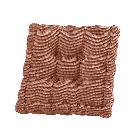 Morehappy7 - Cojín Grueso de algodón para Asiento de Silla ...