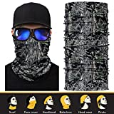 3D-Face-Sun-Mask-Headwear-Neck-Gaiter-Magic-Scarf-Balaclava-Bandana-Headband-for-Fishing-Hunting-Hiking-Yard-work-Moisture-Wicking-UV-Protection-Great-for-Men-Women