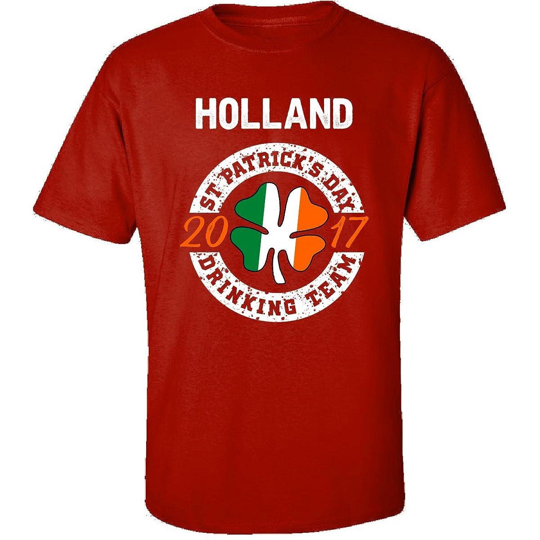 Holland St Patricks Day 2017 Drinking Team Irish - Adult Shirt
