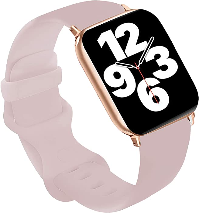 Top 10 Pale Pink Silicone Bands For Apple Watch