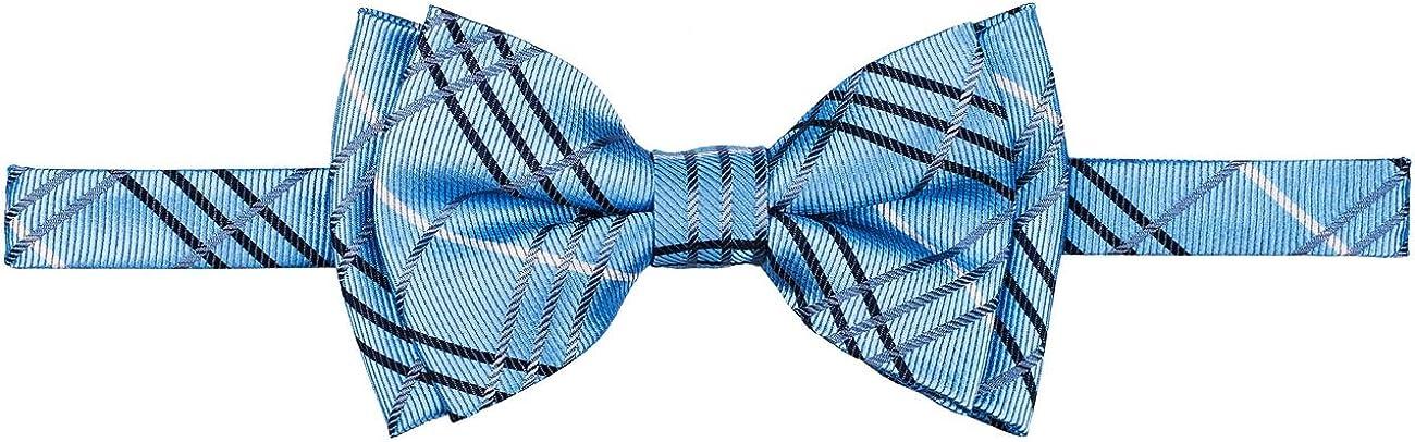 Retreez Tartan Plaid Styles Woven Microfiber Pre-tied Boys Bow Tie