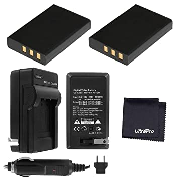 Amazon.com: 2-Pack D-L17 Baterías de reemplazo con Rapid ...