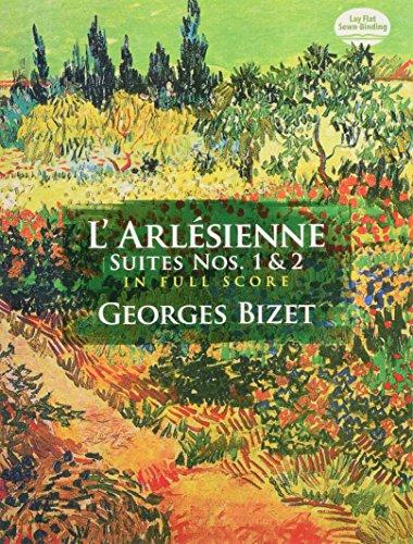 L'Arlésienne Suites Nos. 1 & 2 Full Score (Dover Music - Nos Larlesienne Suites