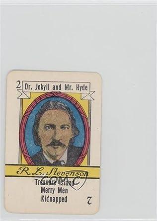 Robert Louis Stevenson (Trading Card) 1935 Russell Famous