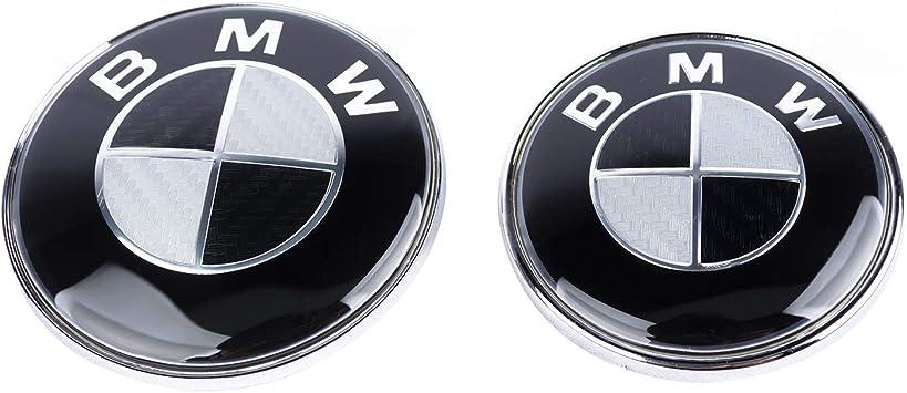 SFONIA Auto 90 mm 80 mm vorne hinten Motorhaube Emblem Motorhaube Logo Kofferraum Badge