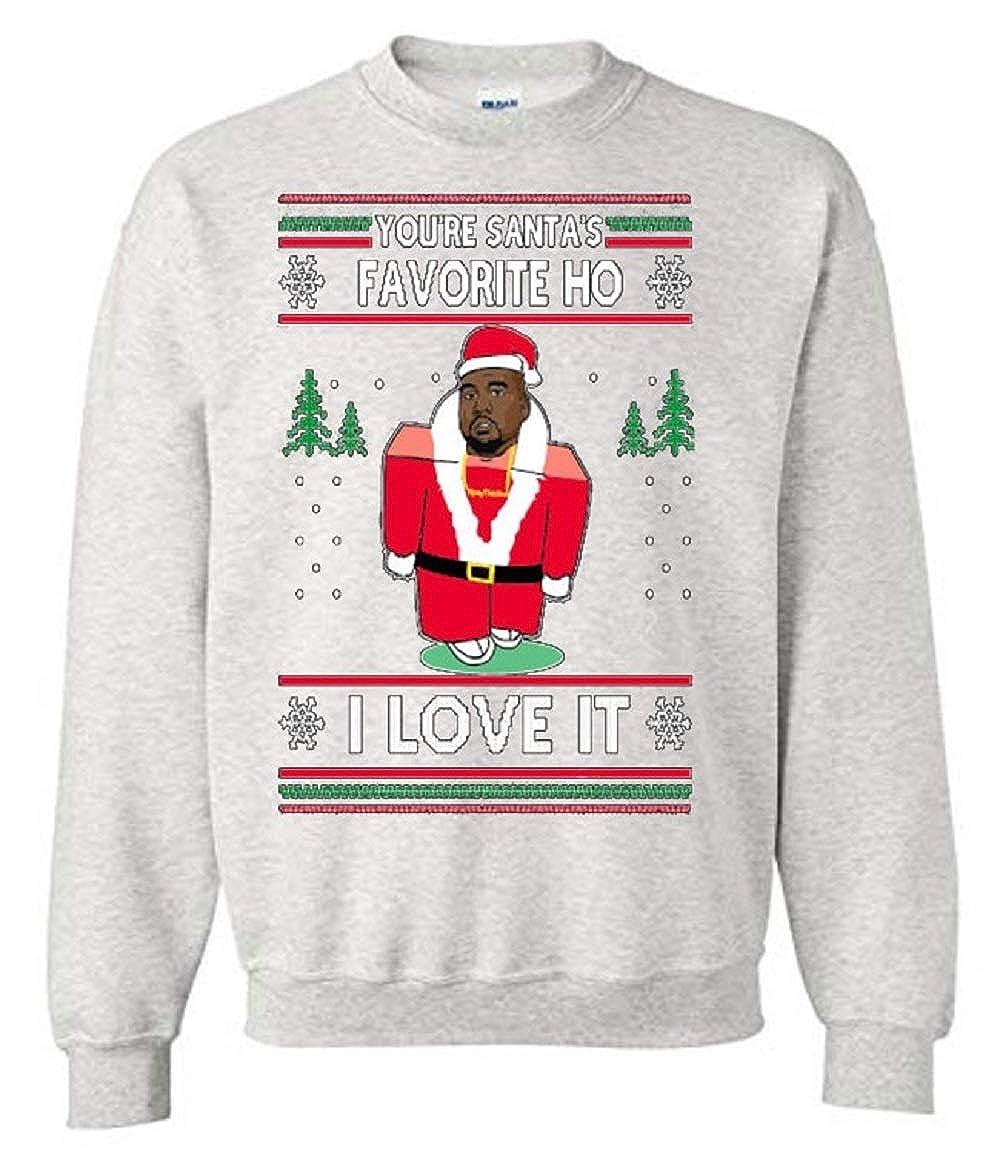 Amazon.com: TheTshack You are Santa\'s Favorite Hoe I Love It Kanye ...