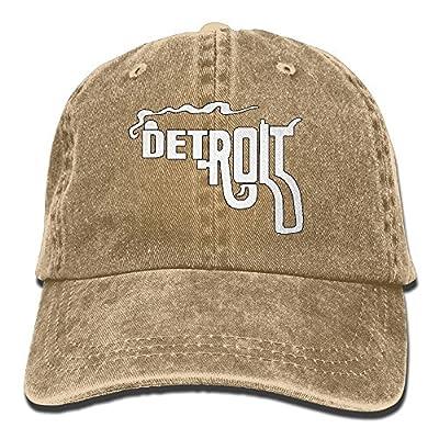 QQQWZH-A Detroit Smoking Gun Baseball Jean headgear