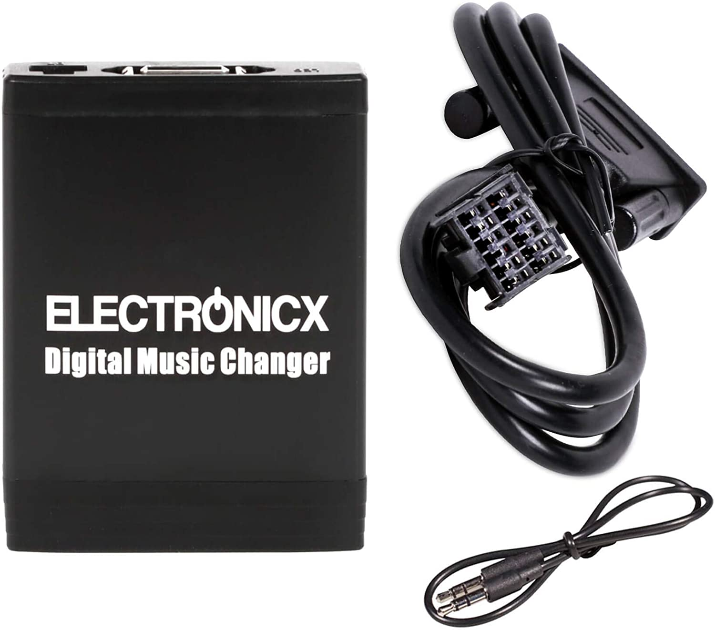Kreema 12Pin Bluetooth Adapter Audio Aux Kabel f/ür Ford Focus Mk2 MK3 Fiesta MA1968