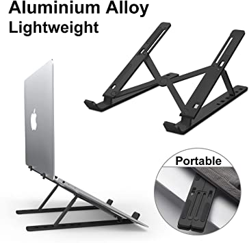 Universal Mini Foldable Mobile Phone Laptop Adjustable Stand Holder Base For PC