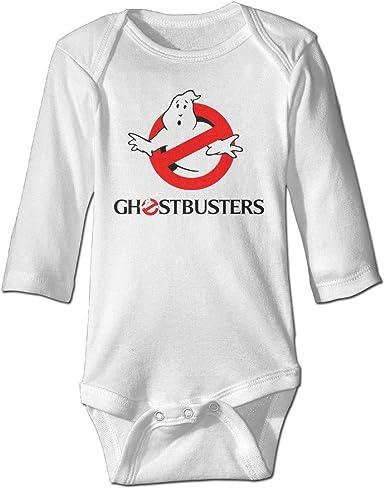 Boss-Seller Ghostbusters Long-Sleeve Romper Tank Tops For 6-24 Months Infant White