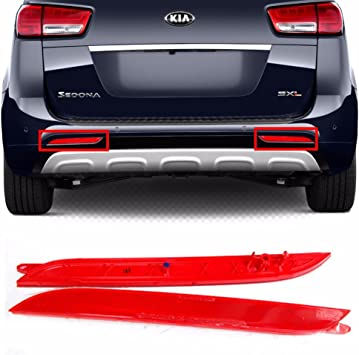 for 2010 2013 Volkswagen GTI RH Passenger Side Right Bumper Mounted Reflector