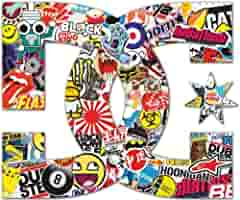Pegatina con el logo «DC», perfecta para coches y motos de la misma concesionaria, 15 x 12 cm: Amazon.es: Hogar