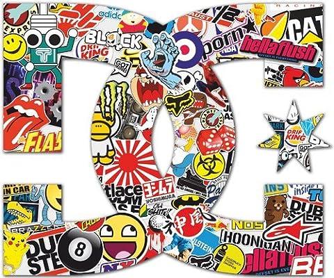 Pegatina con el logo «DC», perfecta para coches y motos de la ...