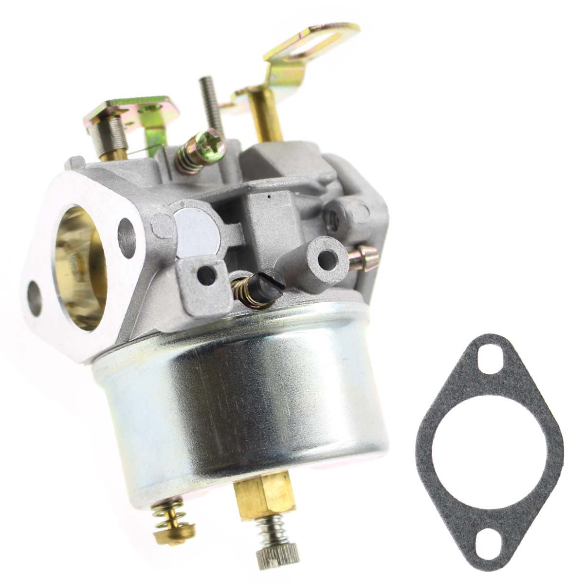 AUTOKAY Adjustable Carburetor for Tecumseh 8HP 9HP 10HP Snowblower 640349 640052 640054