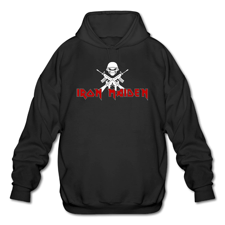 9f4ed96cca lovely Iron Maiden Heavy Metal Band Men s Fashion Hoodies Hooded Sweatshirt