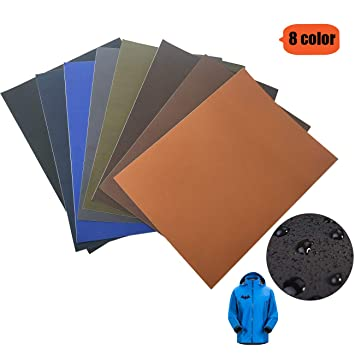 15 Color Nylon Patch Zelte Regenjacke und andere Nylon-Materialien. Regenschirme GloBal Mai Selbstklebende Patch-Sticker geeignet f/ür Glatte Stoff Rucks/äcke 15 Farben-Anz/üge