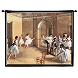 Pure Country the Dance Foyer At the Opera on the Rue Le Peletier Wall Tapestry